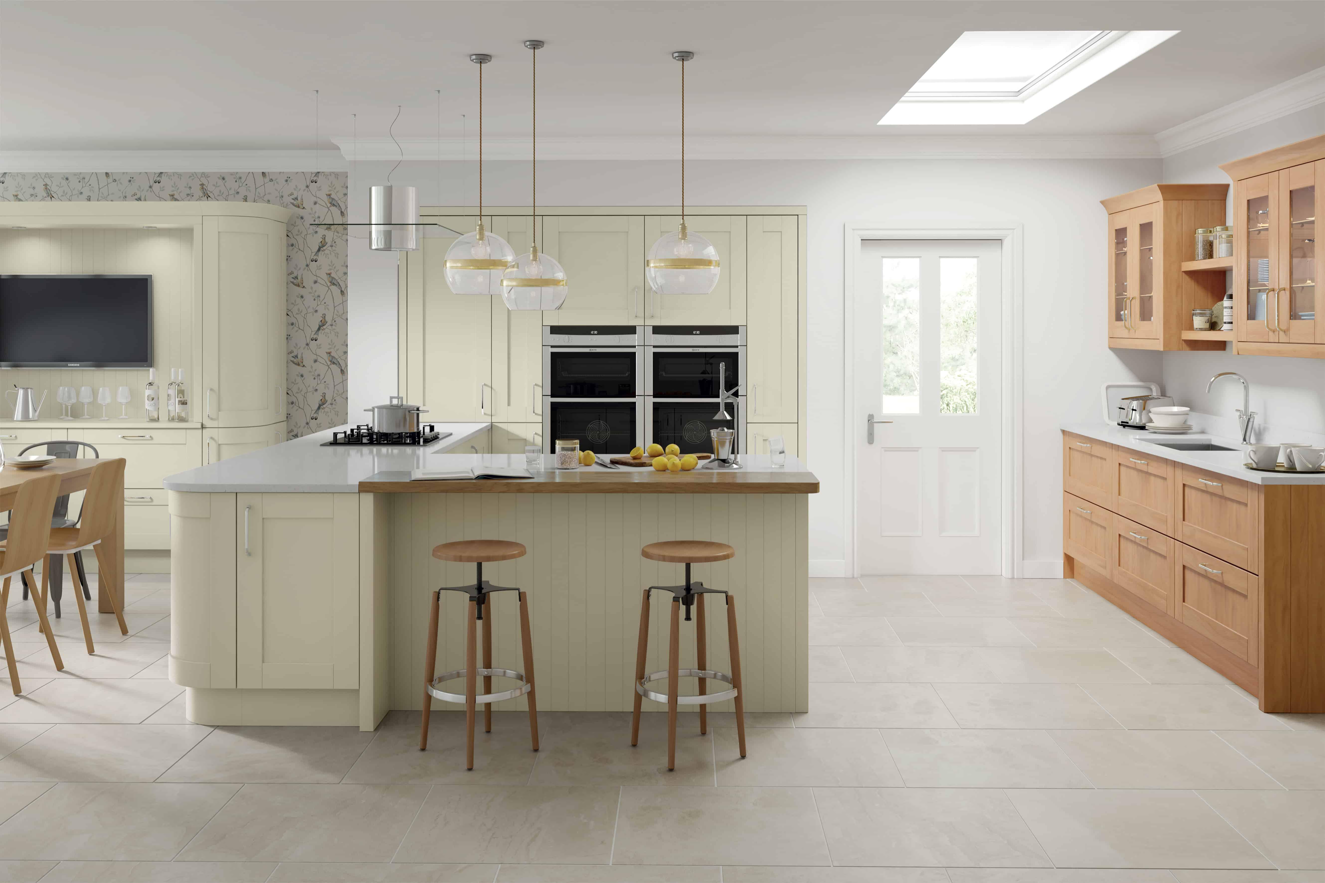 Cambridge Hand Painted Kitchen – Kitchen Bathroom Creations