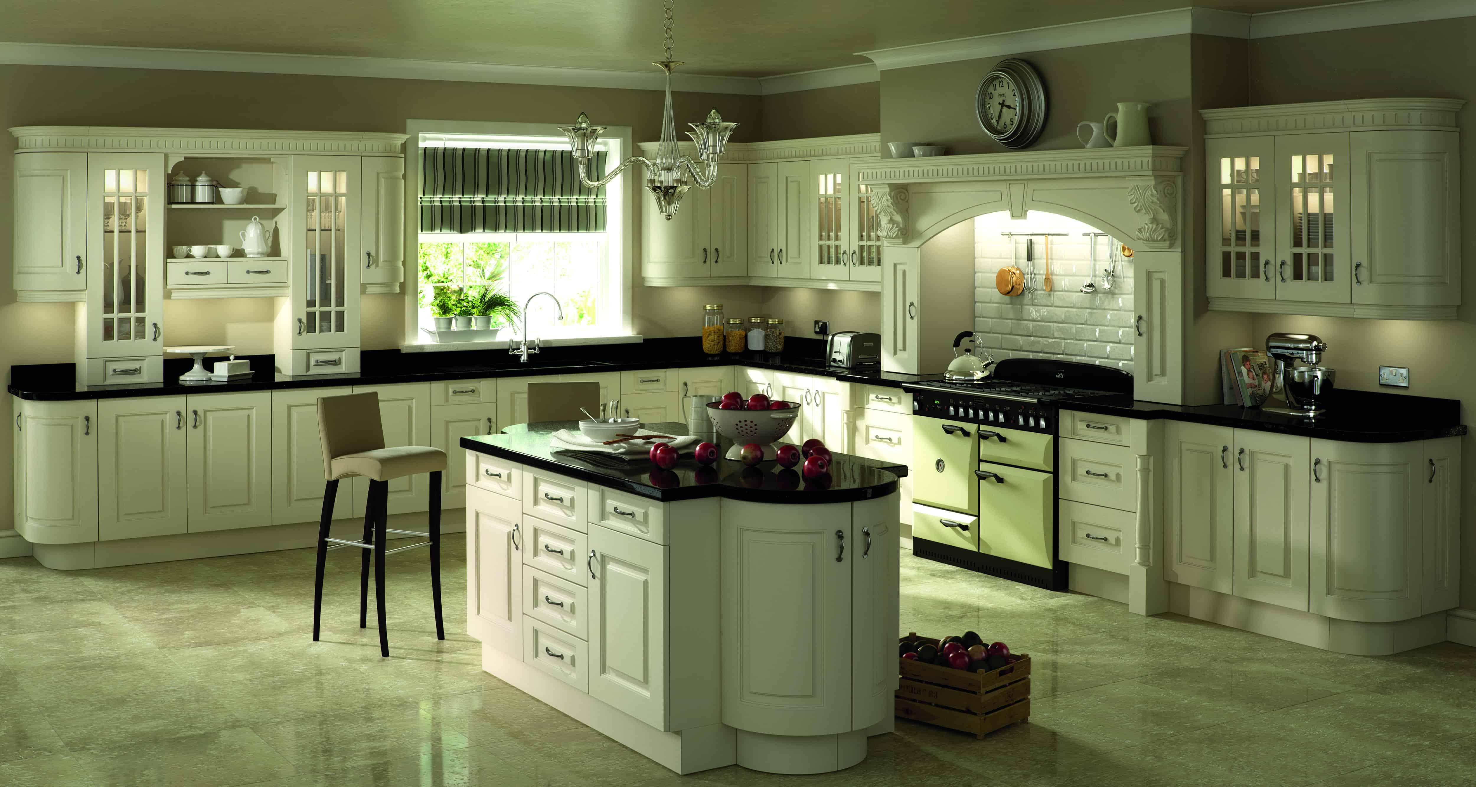 Denton Ivory Kitchen Kitchen Bathroom Creations